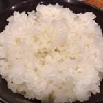 とんかつ瓢 - ご飯のお椀はプラ製