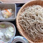 そば処 いちい - 料理写真:超粗挽蕎麦極の大盛り