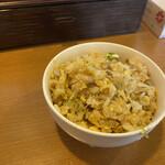 盛来軒 - 料理写真:ラーメン半チャーハンセットの半チャーハン