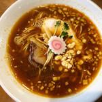 ふくろう - 【限定メニュー】ふくろう的「担々麺(醤油)」
