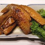 茶寮 一粋 料理屋 えん - 鶏手羽先やわらか煮(650円)