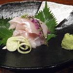 茶寮 一粋 料理屋 えん - かさごのお造り(650円)
