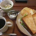 15330093 - B.L.Tサンドイッチ&コーヒー