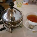 カフェプラスケーキシフォン - 紅茶ポット、かわいい