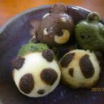 カフェプラスケーキシフォン - 動物プチケーキ