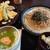 セントラルゴルフクラブ - 料理写真:季節の天ぷらと蕎麦と小丼
