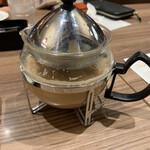高倉町珈琲 - ロイヤルミルクティーのポット  オシャレ✨