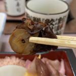 三朝寿司 - 煮タコ