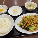 華林 - 華林(キクラゲと玉子の炒め)