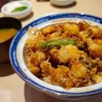 153308965 - スペシャルかき揚丼(ご飯少なめ)