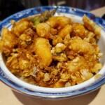 153308967 - ミックスかき揚丼(ご飯少なめ)