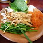 しゃぶ葉 - 野菜①