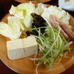 しゃぶ葉 - 野菜②