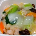 中国料理 堀内 - 料理写真:エビヤキソバ
