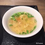 中国料理 空 - 蛋花湯