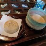 お食事処 かさの家 - 野立コーヒーセット