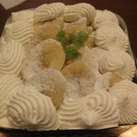 パティスリー ありがとう - 生チョコバナナケーキ 1480円 2012.10