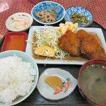 惣菜 おか - ミニトンカツ定食