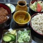 大村国定 - 料理写真:ソースかつ丼セット