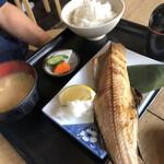 山角 - ホッケの塩焼き定食980円