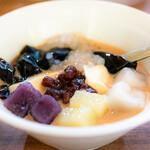 153333685 - 台湾伝統のスイーツ『三色芋園(ユーユエン)』