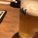 ハヌリ - 18時までに入れば生ビール(中)が280円!