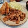 とんかつ三太 - 料理写真:生姜焼き&ヒレカツ