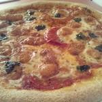 ジロー - 自家製ピザ(マルゲリータ)自家製ブレンドハーブ塩が隠し味