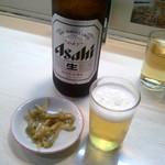 宝華 - 瓶ビール600円。