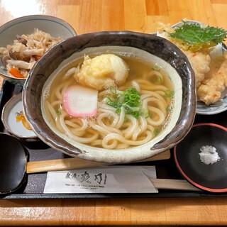 爽月 - 料理写真:とり玉・天セット