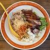 麺や一芯 - 料理写真:■【限定】スモークチキンまぜそば¥950