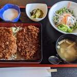 甘楽亭 - 料理写真:たれヒレカツ丼(竹)
