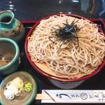 大野家 - 料理写真:ざるそば:750円