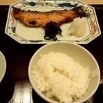 山田屋 - サーモンの粕漬け焼定食1,000円