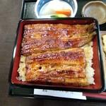 八木秀 - 鰻重ご飯大盛り