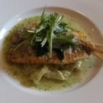 LE MILLE - メインは魚をチョイス。