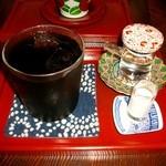 珈琲屋うさぎ - アイスコーヒー