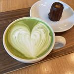 ホワイト グラス コーヒー -