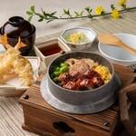 かごの屋 - 鰻の釜飯定食
