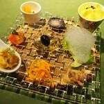 炭火焼きステーキ灰屋 - 料理写真:お野菜のオードブル!