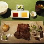 炭火焼きステーキ灰屋 - 特選牛サーロインステーキ!