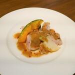 サウス ストリート バル - 紅木豚のソテー