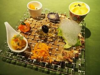 炭火焼きステーキ灰屋 - お野菜のオードブル!