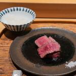 肉割烹 上 - ステーキ ヒレ 三田牛39ヶ月 ランボソ 三田牛39ヶ月