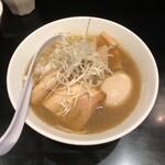煮干し中華そば のじじR - 料理写真:煮干中華そば NORMAL + 煮卵