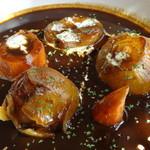 ベジファンタジア - 料理写真:有機野菜ゴロゴロ デミグラスシチュー