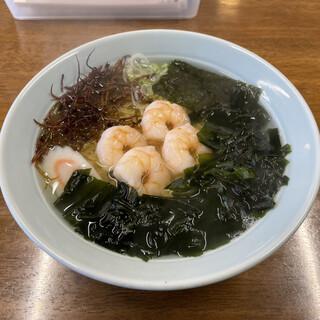 こんの直売センター - 料理写真:海藻えびラーメン 720円