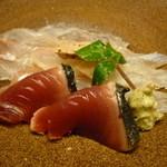 お料理 宮本 - ☆鮃&鰹は肝と縁側付きです(●^o^●)☆