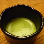 お料理 宮本 - ☆予想外に嬉しいお抹茶で〆☆