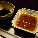 お料理 宮本 - ☆お造り醤油とチリ酢☆